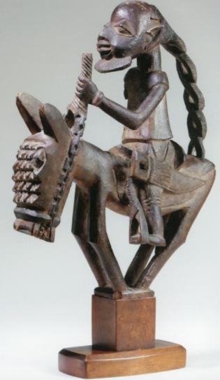 Kakanfo horse man